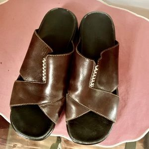 Cole Haan Nike air leather mules